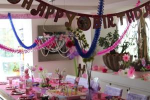 Elfen Party Kindergeburtstag