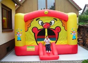Hüpfburg clown-small