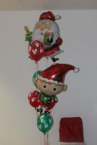 Weihnachtsluftballon