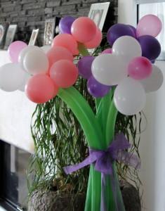 Blumen Ballonmodellage