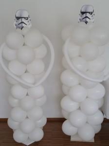 Clone Wars Luftballonsäulen