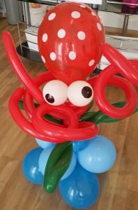 Krake Luftballon