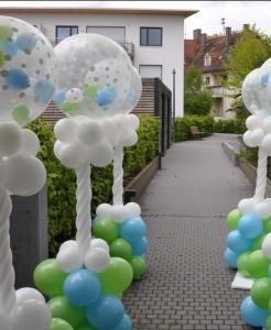 Ballon Säulen