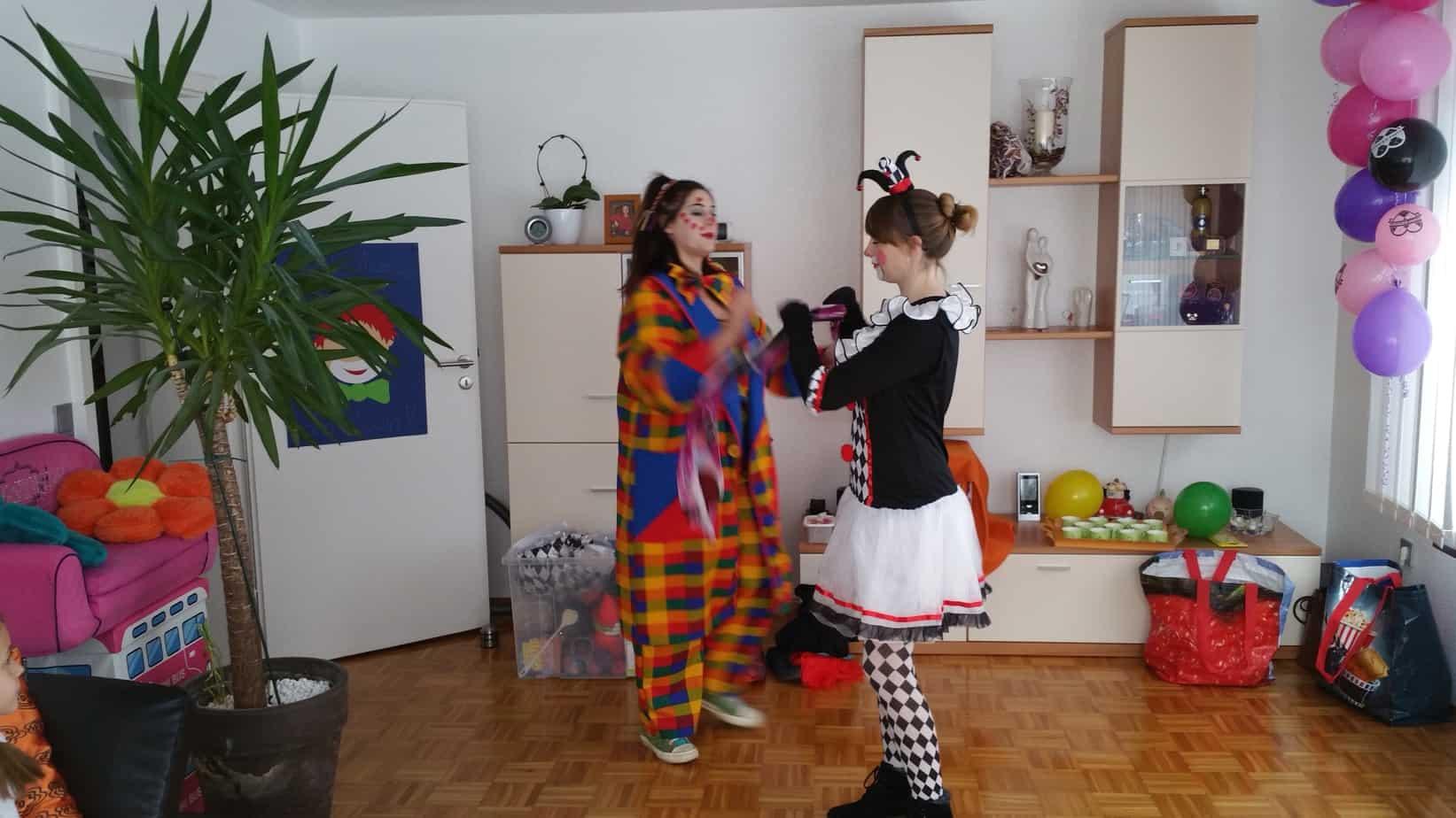 Zirkus-Clown-Geburtstag | Kindereventagentur Glückskinder Karlsruhe